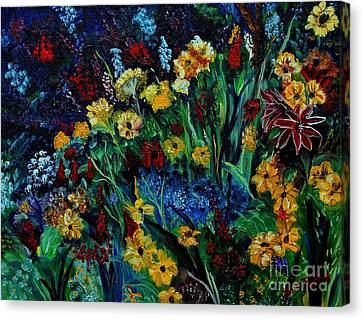 Moms Garden II Canvas Print