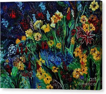 Moms Garden II Canvas Print by Julie Brugh Riffey