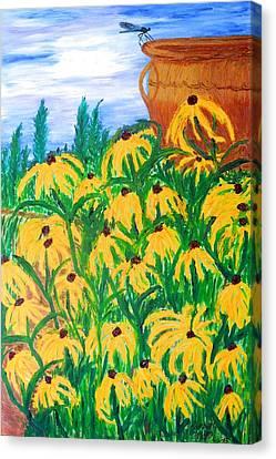 Moms Garden Canvas Print