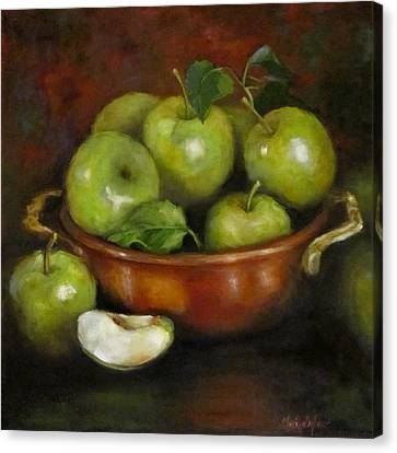 Mom's Last Apple Harvest Canvas Print