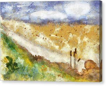 Momzie's Nature -t0202f Canvas Print by Variance Collections