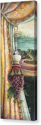 Mona Chianti Tassel Canvas Print by Suzanne Rende-Chorno