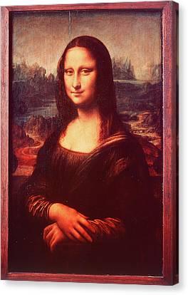 Masterful Canvas Print - Mona Lisa By Leonardo Da Vinci by Vintage Images