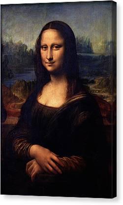 Canvas Print featuring the painting Mona Lisa II by Karon Melillo DeVega