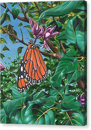 Monarch Muse Canvas Print