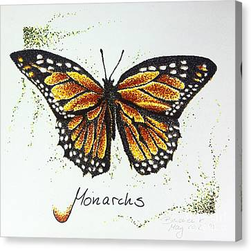 Monarchs - Butterfly Canvas Print