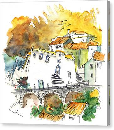 Monastery In Vinhais Canvas Print by Miki De Goodaboom