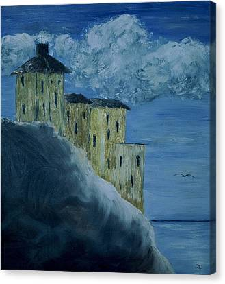 Monastery Canvas Print by Inge Lewis