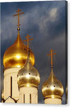 Monastery Canvas Print by Julia Ivanovna Willhite