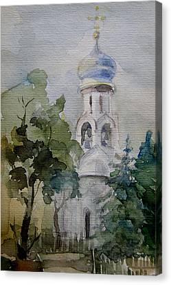 Monastery Canvas Print by Khromykh Natalia
