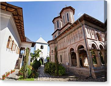 Monastery Manastirea Dintr-un Lemn Canvas Print