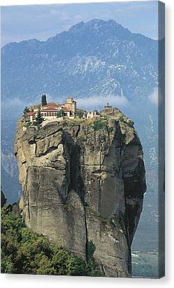 Monastery Of The Holy Trinity Hagia Canvas Print by Everett