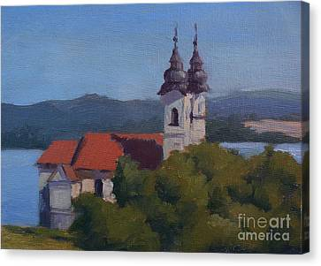 Monastery Of Tihany Canvas Print