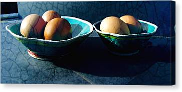 Monday Morning Blues Canvas Print by Ann Powell