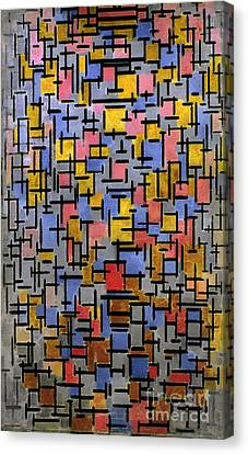 Mondrian Composition 1916 Canvas Print by Granger
