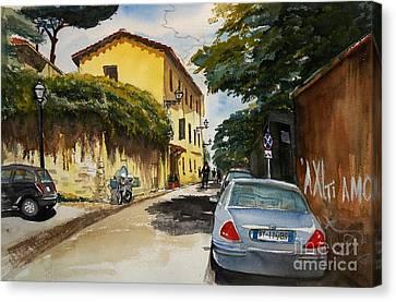 Monestero S Antonio Abate Canvas Print