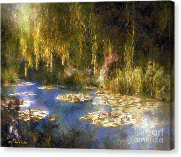 Monet After Midnight Canvas Print by RC deWinter