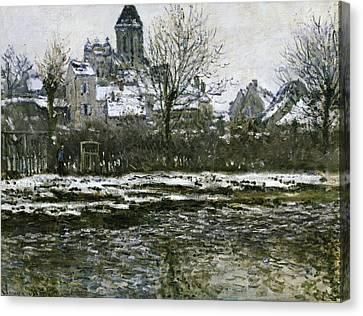 Monet, Claude 1840-1926. The Church Canvas Print