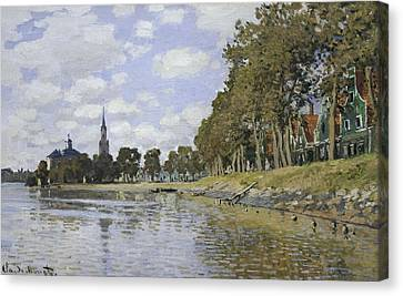 Monet, Claude 1840-1926. Zaandam. 1871 Canvas Print