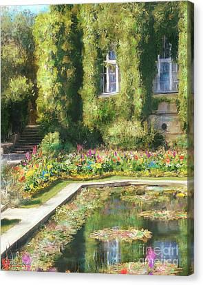 Monet Hommage 1 Canvas Print