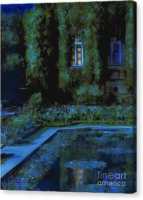 Monet Hommage 2 Canvas Print