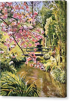 Monet Spring Canvas Print by David Lloyd Glover