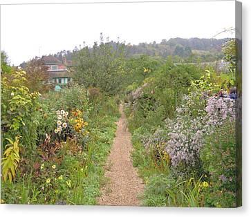 Monet's Garden 5 Canvas Print