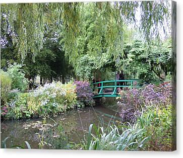 Monet's Japanese Bridge Canvas Print