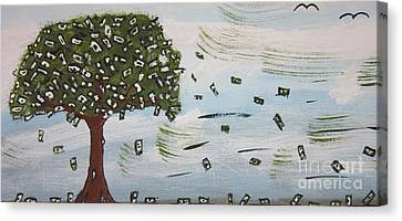 The Money Tree Canvas Print