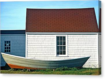Monhegan Museum2 Canvas Print
