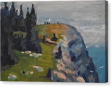 Monhegan's Burnthead Canvas Print
