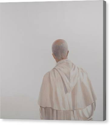 Monk, Santantimo I, 2012 Acrylic On Canvas Canvas Print by Lincoln Seligman