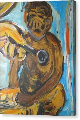 Monkey Doctor Canvas Print by Patrick Humphreys