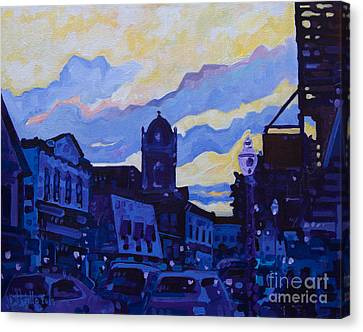 Monmouth Sunset Canvas Print