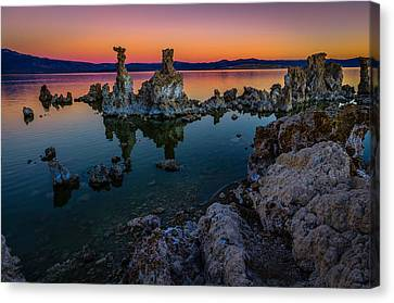 Mono Lake California Sunrise Canvas Print