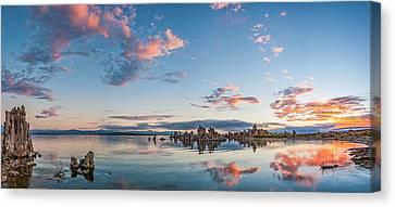 Mono Lake Morning - Eastern Sierra Sunrise Photograph Canvas Print by Duane Miller