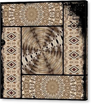 Mono Canvas Print by Sylvia Thornton