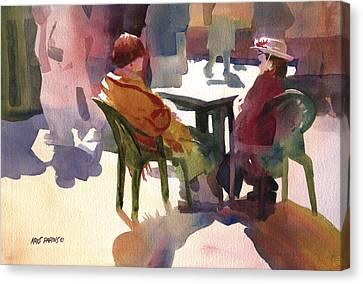 Monologue Canvas Print