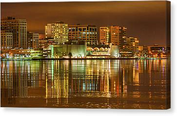 Monona Terrace Madison Wisconsin Canvas Print by Steven Ralser