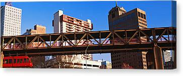 Monorail Canvas Print - Monorail System In Memphis, Tennessee by Panoramic Images