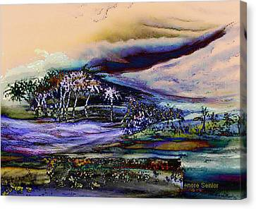 Monsoon 2 Canvas Print by Lenore Senior
