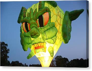 Monster Balloon Canvas Print by Richard Engelbrecht