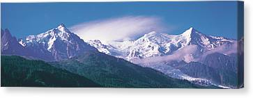 Mont Blanc France Canvas Print by Panoramic Images