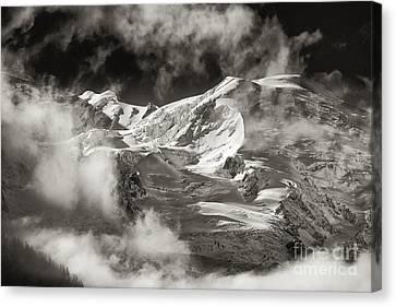 Mont Blanc Group Canvas Print by Juergen Klust