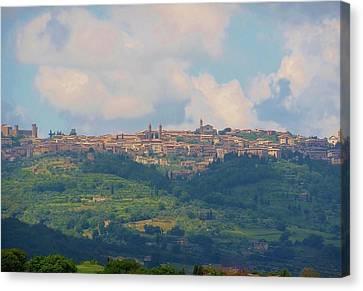 Montalcino Canvas Print