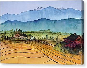 Montana Dreams Canvas Print by Carolyn Doe