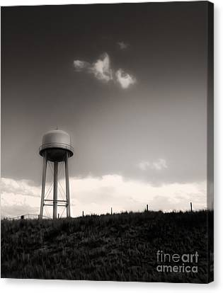 Montana - Lonely Sky Canvas Print by Gregory Dyer