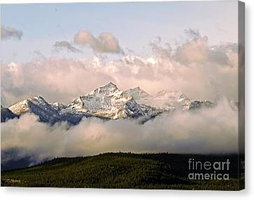 Montana Mountain Canvas Print