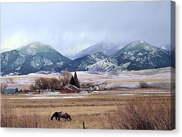 Montana Ranch - 1 Canvas Print