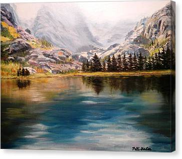 Montana Reflections Canvas Print
